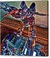 Robo Man Canvas Print