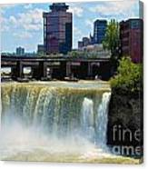 Rochester At High Falls Canvas Print
