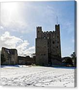 Rochester Castle Canvas Print