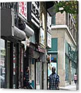 Rochester Main Street 2009 Canvas Print