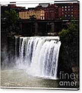 Rochester Ny High Falls Canvas Print