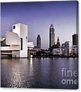 Rock And Roll Hall Of Fame - Cleveland Ohio - 2 Canvas Print