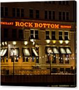 Rock Bottom - Milwaukee  Canvas Print