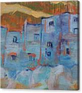 Rock City Abstract Canvas Print