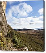 Rock Cliff Southern Madagascar Canvas Print
