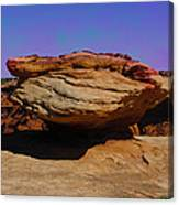 Rock Formation In Canyon De Chelly Canvas Print