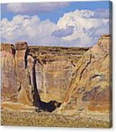 Rock Formations At Capital Reef Canvas Print