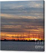 Rock Hall Sunset I Canvas Print