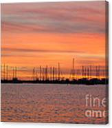 Rock Hall Sunset II Canvas Print