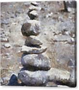 Rock Markers Photo Art 02 Canvas Print