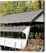Rock Mill Covered Bridge Ohio Canvas Print