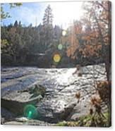 Rock Mountian Yosemite Canvas Print