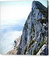 Rock Of Gibraltar Canvas Print