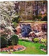 Rock Quarry Garden Canvas Print