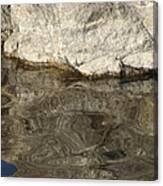 Rock Reflection Canvas Print