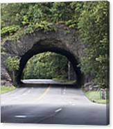 Rock Tunnel On Kelly Drive Canvas Print