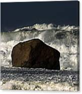 Rock V Wave I Canvas Print