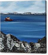 Rock View Canvas Print