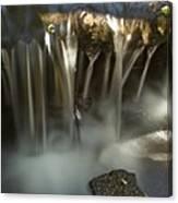 Rock Waterfall Canvas Print