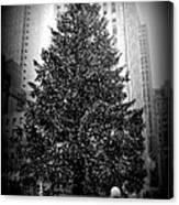 Rockefeller Christmas Tree Canvas Print