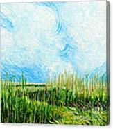 Rockefeller Coastal Marsh Louisiana  Canvas Print