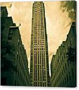 Rockefeller Tower Canvas Print
