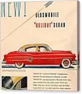 Rocket Oldsmobile Canvas Print