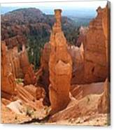 Rockformation  Bryce Canyon Canvas Print
