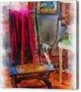 Rocking Chair Photo Art Canvas Print