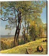 Rockland County. California Canvas Print