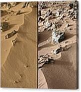 Rocknest Site, Mars, Curiosity Images Canvas Print