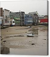 Rockport At Low Tide Canvas Print