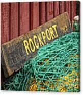 Rockport Canvas Print