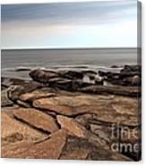 Rockport Rocks Canvas Print