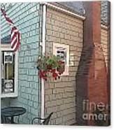 Rockport Streetscape Canvas Print