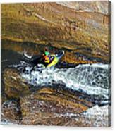 Rocks And Rapids Canvas Print