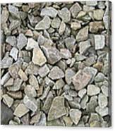 Rocks And Stones Texture Canvas Print