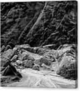 Rocks At Pt. Lobos Canvas Print