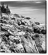Rocks Of Acaida Canvas Print