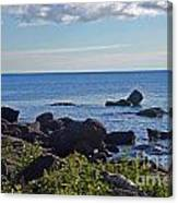 Rocks Of Lake Superior Canvas Print