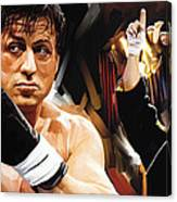 Rocky Artwork 2 Canvas Print