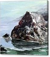 Rocky Beach Canvas Print