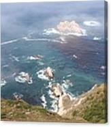 Rocky California Coast Canvas Print