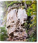 Rocky Cliff Wildcat Den Muscatine Ia 1 Canvas Print