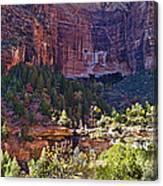 Rocky Cliff - Zion Canvas Print