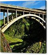 Rocky Creek Bridge Canvas Print
