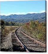 Rocky Creek Railroad Canvas Print
