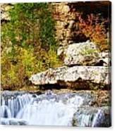 Rocky Fall Canvas Print