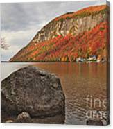 Rocky Lake Willoughby Canvas Print