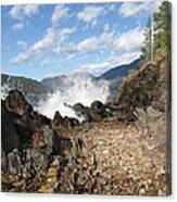 Rocky Ledges Canvas Print